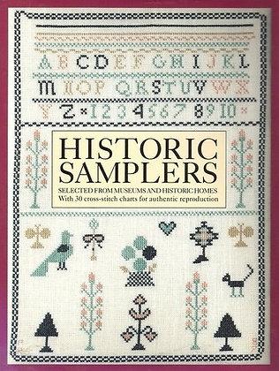 Historic Samplers by Pat Ryan and Allan Bragdon