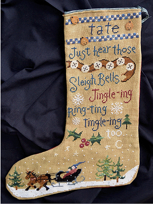 Tate's Stocking by Raise the Roof Designs