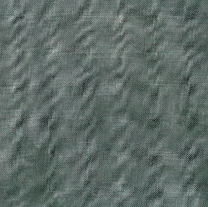 36 count Steel Fat Quarter Hand-Dyed Linen by Fiber on a Whim