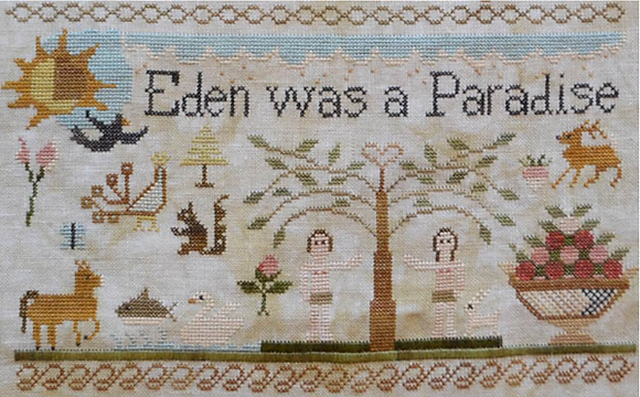 Jenny Bean's For the Parlor: Adam and Eve