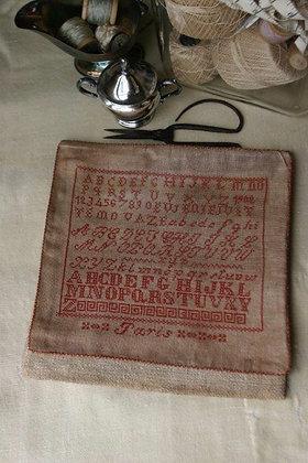 1902 Paris Sampler Bag by Stacy Nash Primitives
