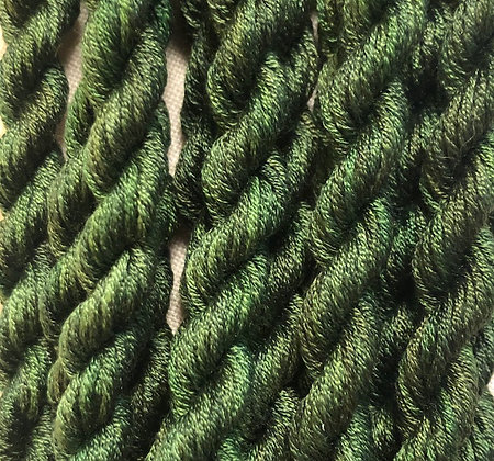 Avonlea Green 6-yards, 12-stranded Silk Floss by Gloriana