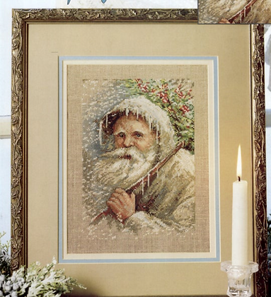 CATS: Grandfather Frost by Leisure Arts