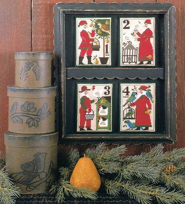 Santa's 12 Days of Christmas 1-4 by Prairie Schooler
