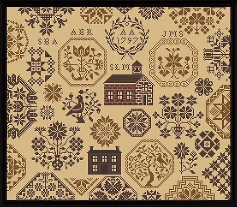 Schoolhouse Quaker by Stone Street Stitchworks