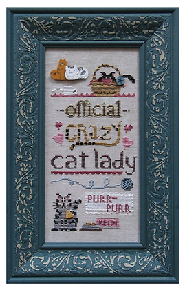 Official Crazy Cat Lady by Raise the Roof Designs