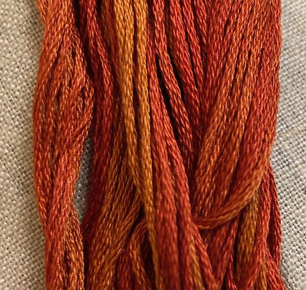 Fallen Leaves Classic Colorworks Cotton Threads 5-yard Skein