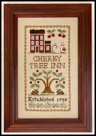 CATS Cherry Tree Inn by Little House Needleworks