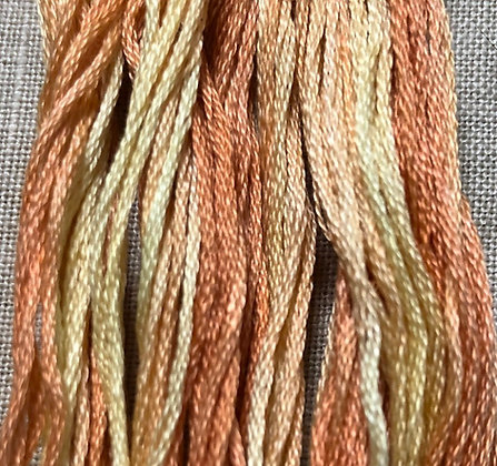 Candy Corn Classic Colorworks Cotton Threads 5-yard Skein