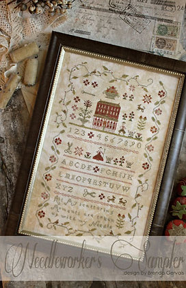 Needleworker's Sampler CHART by With Thy Needle & Thread