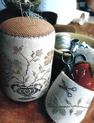*Summer Gathering Pinkeep Drum, Sipper & Strawberry by Stacy Nash