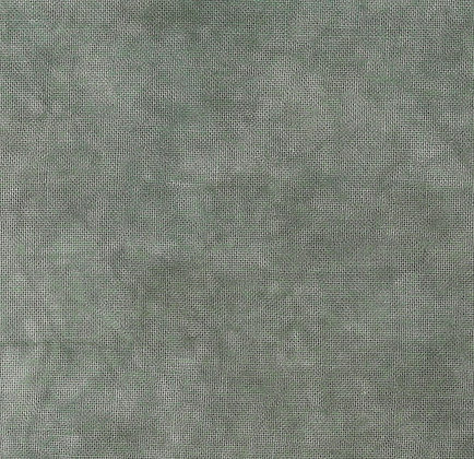40 Count Cyprus Fat Quarter Hand-Dyed Linen by Fiber on a Whi