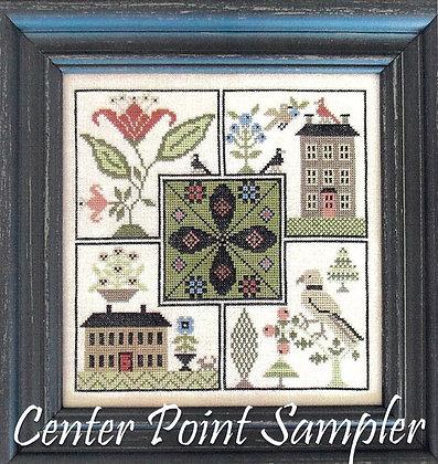 Center Point Sampler by The Scarlett House