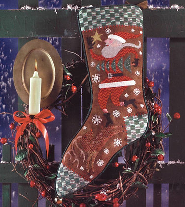 Wish Upon a Star Christmas Stocking by Birds of a Feather