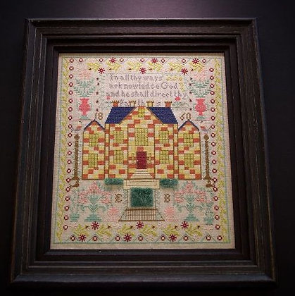 The Chequerboard House A Little Gem by Hands Across the Sea Samplers