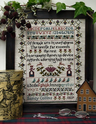 *Nancy Collins Sampler by The Sampler Company/Brenda Keyes