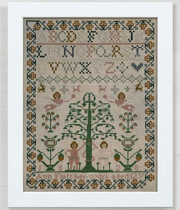 Ann Flatt 1828 by Modern Folk Embroidery