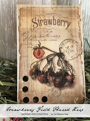 NASH-STASH Strawberry Field Thread Keep by The Primitive Hare