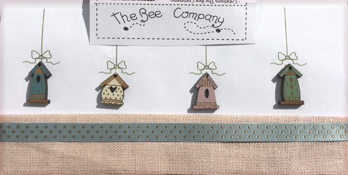 Birdhouse Buttons Set by The Bee Company TB15B