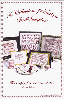 Antique Red Samplers by JBW Designs