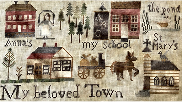 For the Parlor: Town by Shakespeare's Peddler