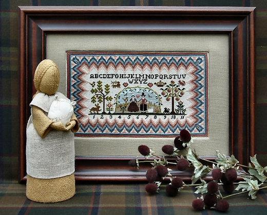 Puritan Sampler by The Sampler Company/Brenda Keyes