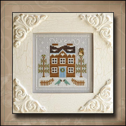 Frosty Forest:Bluebird Cabin by Country Cottage Needleworks