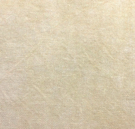 36 Count Cream & Sugar Fat Quarter Hand-Dyed Linen by Fiber on a Whi