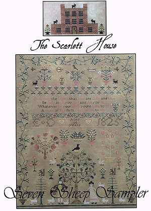 Seven Sheep Sampler chart by The Scarlett House
