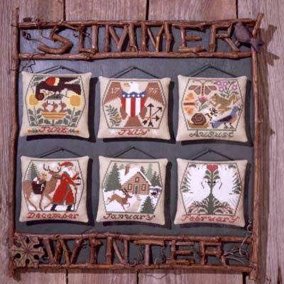 Summer & Winter by The Prairie Schooler