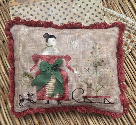 *Deck the Halls Pinkeep by Stacy Nash Primitives