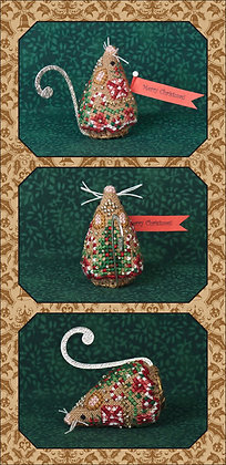 CATS Gingerbread Mouse by Just Nan (CHART ONLY)