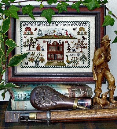 The Huntsman Sampler by The Sampler Company/Brenda Keyes