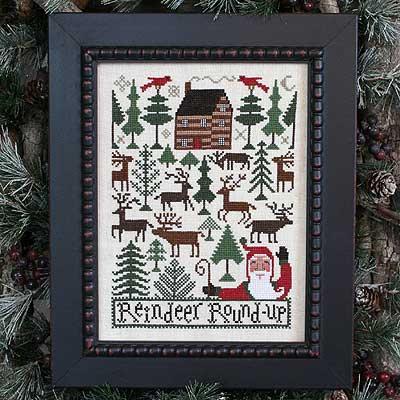 Reindeer Roundup by The Prairie Schooler