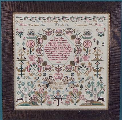 Elizabeth Ginger 1735 by The Scarlet Letter