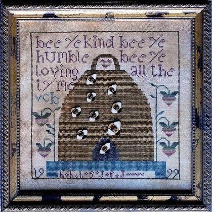 """Happy """"B"""" Hive Samplar by Examplars from the Heart"""