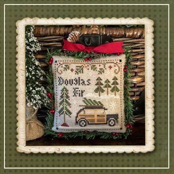 Jack Frost's Tree Farm 2: Douglas Fir by Little House Needleworks