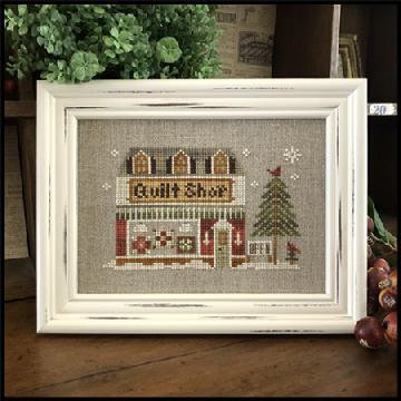 Quilt Shop (Home Town Holiday) by Little House Needleworks/Classic Colorworks