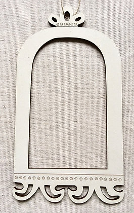 *Cream Birdcage Frame by The Bee Company CAG1