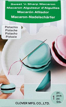 Sweet & Sharp PISTACHIO Macaron (SHARPENS NEEDLES!) by Clover