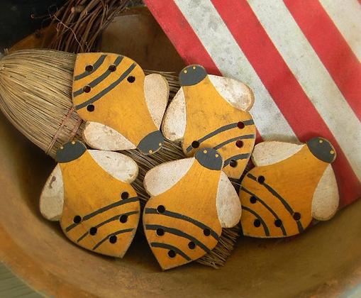 Bee Happy Thread Palette by Notforgotten Farm