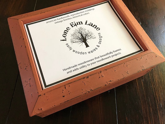 VINTAGE PAPRIKA (FIRST PICTURE) Cabin Box by Lone Elm Lane