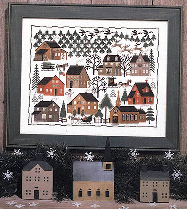 *Christmas Village by The Prairie Schooler
