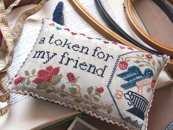 Sewn in Friendship by Heartstring Samplery