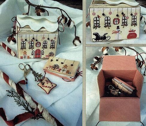 Santa's Home Treasure Box by The Primitive Hare