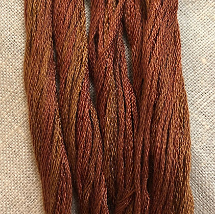 Almost Auburn Classic Colorworks Cotton Threads 5-yard Skein