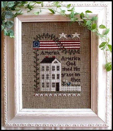 America by Little House Needleworks