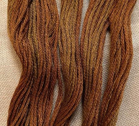 Roasted Chestnut Classic Colorworks Cotton Threads 5-yard Skein