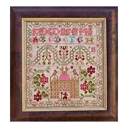 The Old Scot circa 1740-60 by Hands Across the Sea Samplers