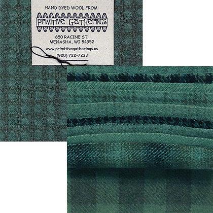 """SEAWATER Wool 5"""" Charm Pack by Primitive Gatherings"""